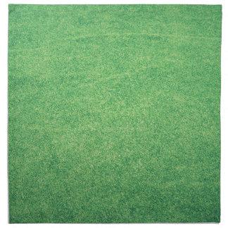 Abstract green napkin
