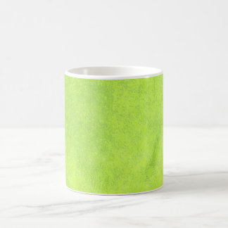 Abstract green paper coffee mug