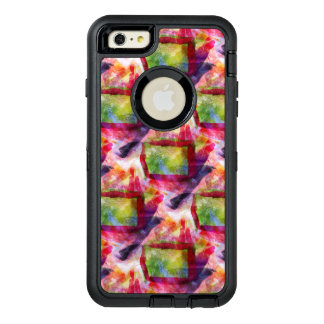 Abstract green, red wallpaper OtterBox iPhone 6/6s plus case