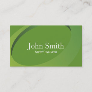 Safety engineering business cards profile cards zazzle ca abstract green safety engineer business card reheart