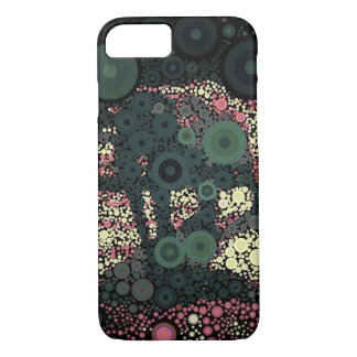 Abstract Green Yellow Pink Elephant iphone 7 case