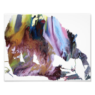 Abstract Grizzly bear silhouette Art Photo