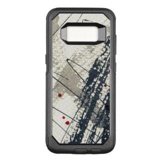 Abstract grunge background, ink texture. 2 OtterBox commuter samsung galaxy s8 case