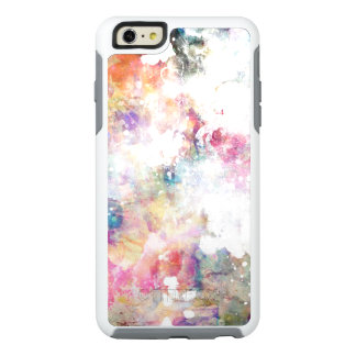 Abstract grunge texture with watercolor paint 2 OtterBox iPhone 6/6s plus case