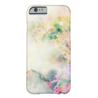 Abstract grunge texture with watercolor paint barely there iPhone 6 case