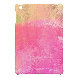 Abstract Grunge Watercolor Pink iPad Mini Cases