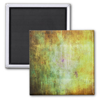 Abstract Grunge with a Rough Scratched Texture 2 Inch Square Magnet