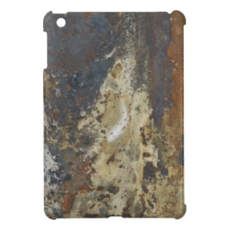 Abstract Grunge Yellow and Brown Rust iPad Mini Cases