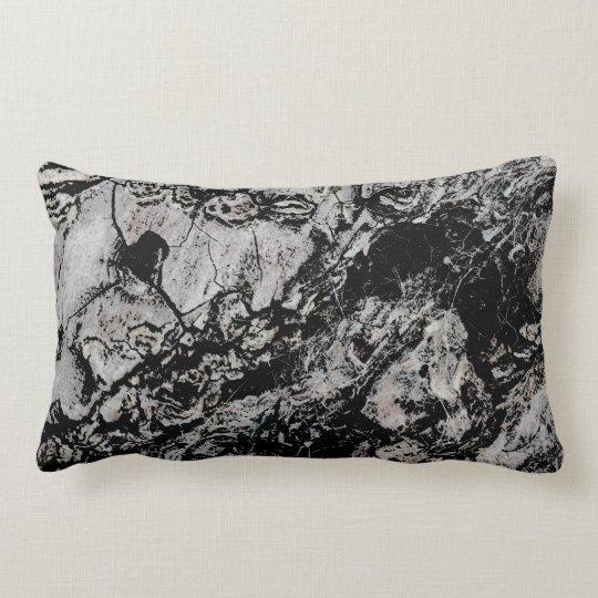 Abstract Grungy Design. Lumbar Pillow