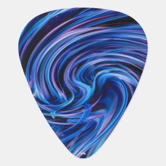 Abstract Guitar Pick