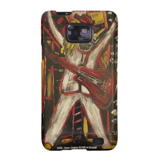 Abstract Guitarist VII Samsung Galaxy S Covers