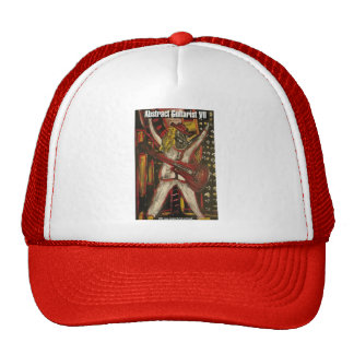 abstract guitarist VII Mesh Hats