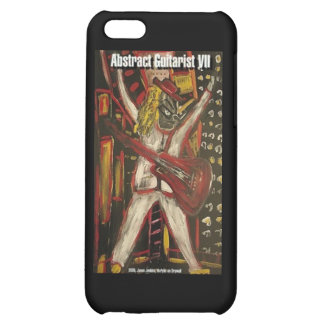 Abstract Guitarist VII iPhone 5C Cases