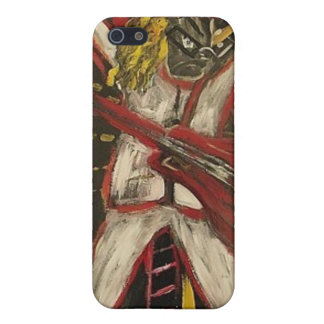 Abstract Guitarist VII Cases For iPhone 5