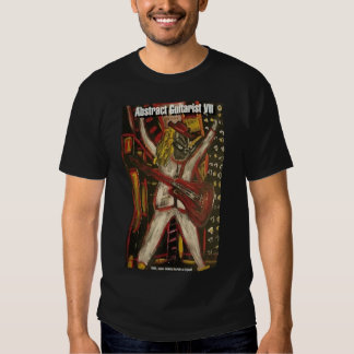 Abstract Guitarist VII T-shirts