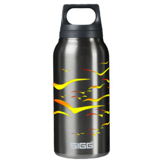 Abstract Gulls in Flight Liberty Insulated Water Bottle