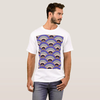 Abstract half circle background T-Shirt
