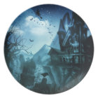 Abstract Halloween Backgrounds Plate