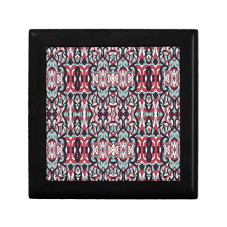 Abstract hand drawn colorful pattern. gift box