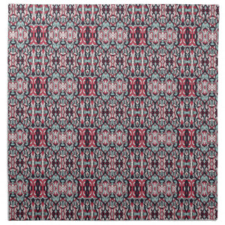 Abstract hand drawn colorful pattern. napkin