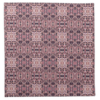Abstract hand drawn pattern. Pink violet colors. Napkin