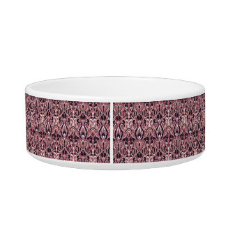 Abstract hand drawn pattern. Purple color. Pet Bowls