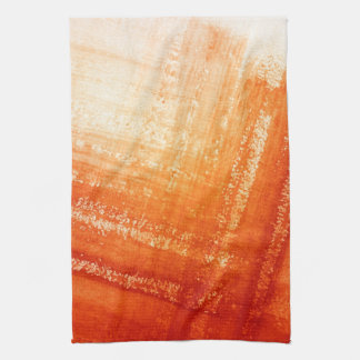 Abstract hand painted background kitchen towel