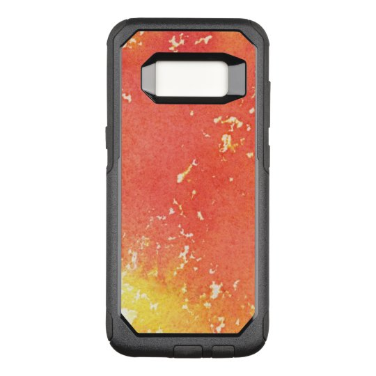 Abstract hand painted watercolor background. OtterBox commuter samsung galaxy s8 case
