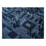 Abstract hardware poster