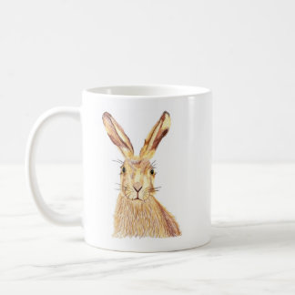 Abstract Hare Mug
