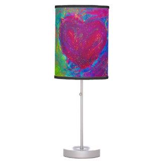 Abstract Heart art lamp