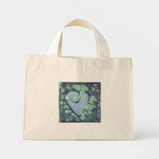 abstract heart bag