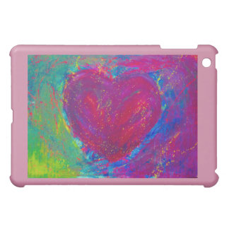 Abstract Heart Cover For The iPad Mini