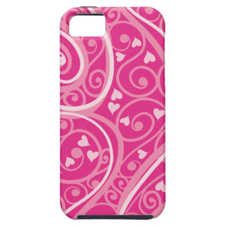 Abstract Hearts iPhone 5 Case
