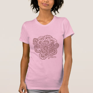 Abstract Henna Mehndi Design T-Shirt