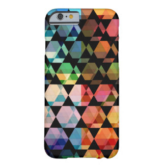 Abstract Hexagon Graphic Design Barely There iPhone 6 Case
