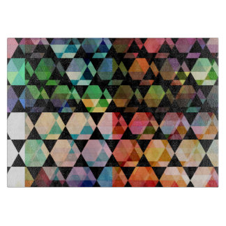 Abstract Hexagon Graphic Design Boards