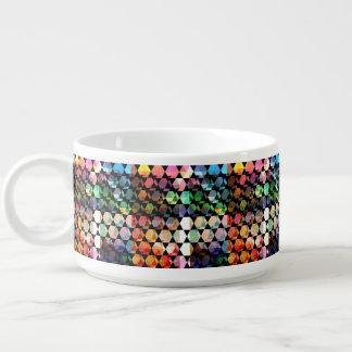 Abstract Hexagon Graphic Design Bowl