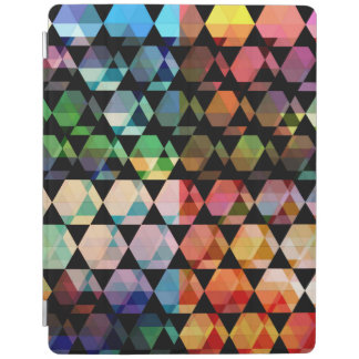 Abstract Hexagon Graphic Design iPad Cover