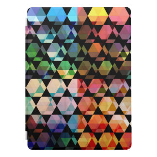 Abstract Hexagon Graphic Design iPad Pro Cover
