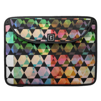 Abstract Hexagon Graphic Design Sleeve For MacBook Pro