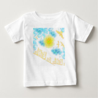 Abstract Hilltop Residences Baby T-Shirt