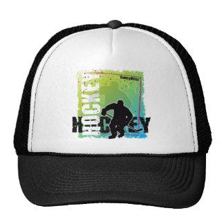 Abstract Hockey (male) Trucker Hat