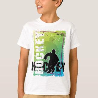 Abstract Hockey Youth Kids T-Shirt
