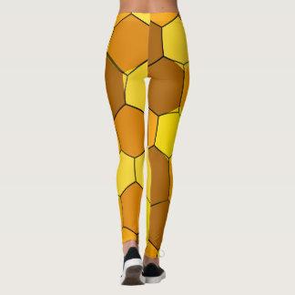 Abstract Honeycomb Leggings
