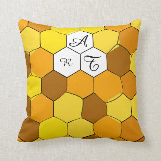 Abstract Honeycomb Personalized Pillow