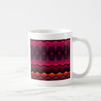 abstract horizon basic white mug