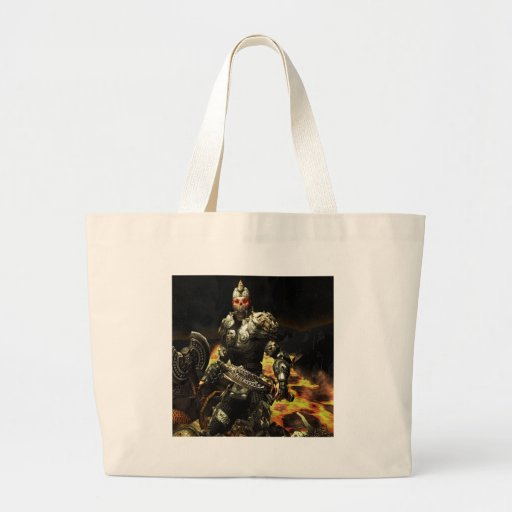 Abstract Horror Death Comes Armour Tote Bag