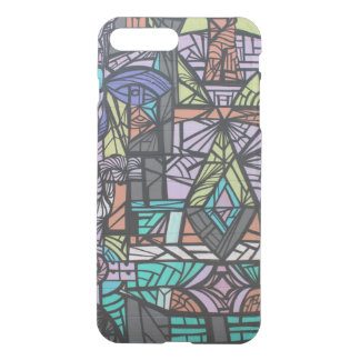 Abstract Houston Graffiti iPhone 8 Plus/7 Plus Case
