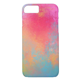 Abstract hull art spray and coloree iPhone 8/7 case
